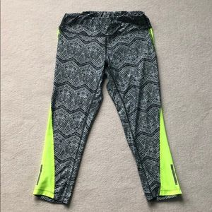 Nike Dri-FIT Printed Racer Cropped Tights